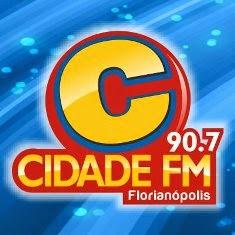 Rádio Cidade FM 90,7 de Florianópolis ao vivo