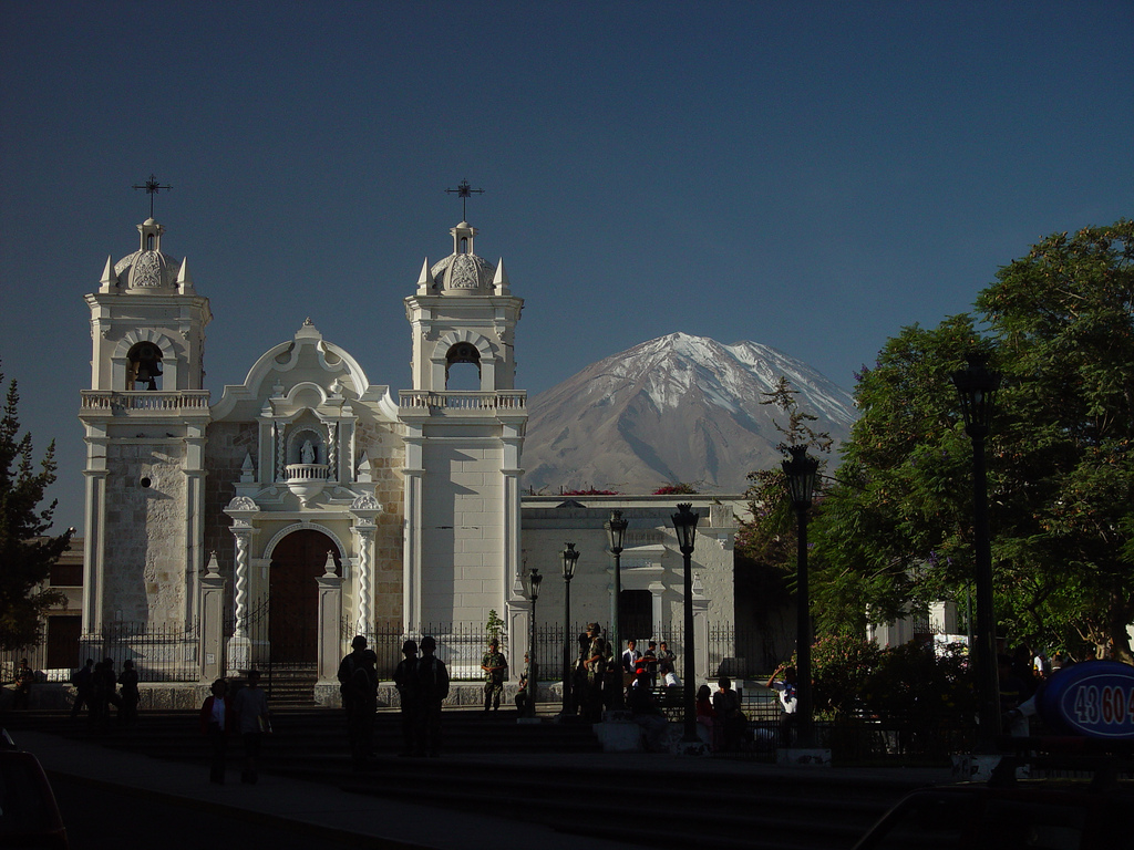 Poetas de arequipa junio 2013 for Cementerio jardin la paz bolivia