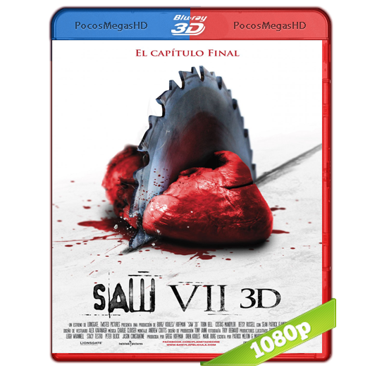 Saw VII The Final Chapter (2010) 3D SBS BrRip 1080p Audio Dual Latino/Ingles 5.1