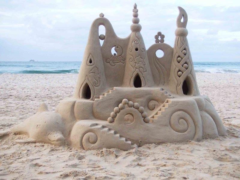 2011 Sand Castle Wallpaper