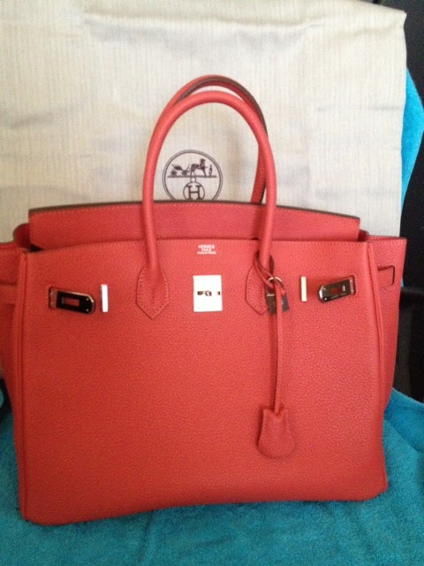 replica handbags made in china - Purse Princess: Replica Hermes Red Birkin 35cm Clemence from Victoria