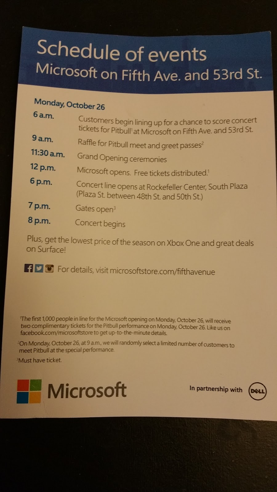 Terresas Steals And Deals Microsoft Store Grand Opening See