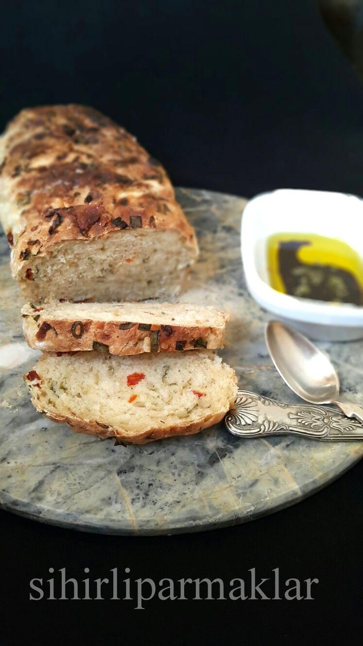 Soğanlı Ekmek Tarifi