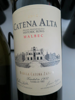 Catena Alta Malbec 2012 - Mendoza, Argentina (91 pts)