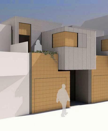 modern minimalist urban house design and architecture