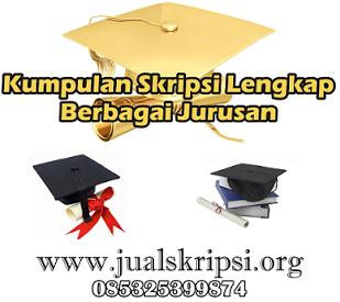 Download Contoh Skripsi PDF Premium