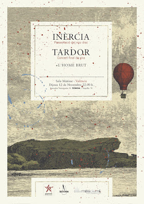 Inèrcia, Tardor, L'Home Brut, Sala Matisse, concert
