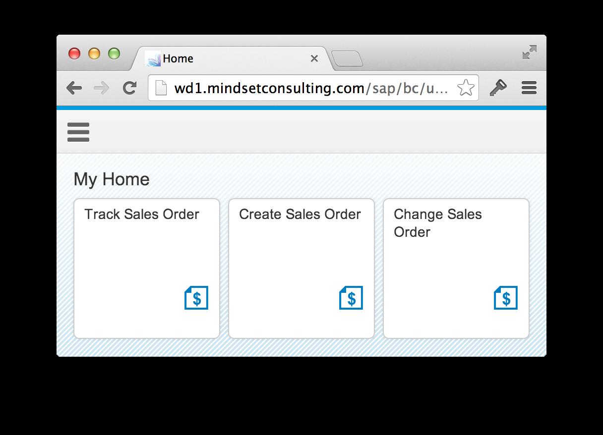 SAP Fiori Sales Order
