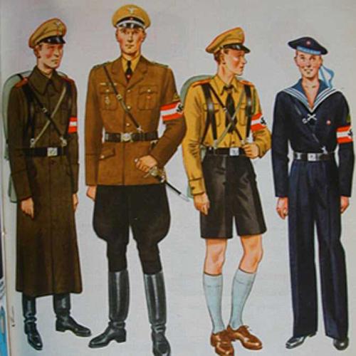 Projekty mundurów Hugo Boss dla armii niemieckiej