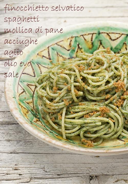 spaghetti al finocchietto