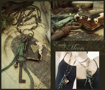 book jewelry key