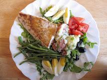 Barefoot Contessa Salmon Nicoise Salad