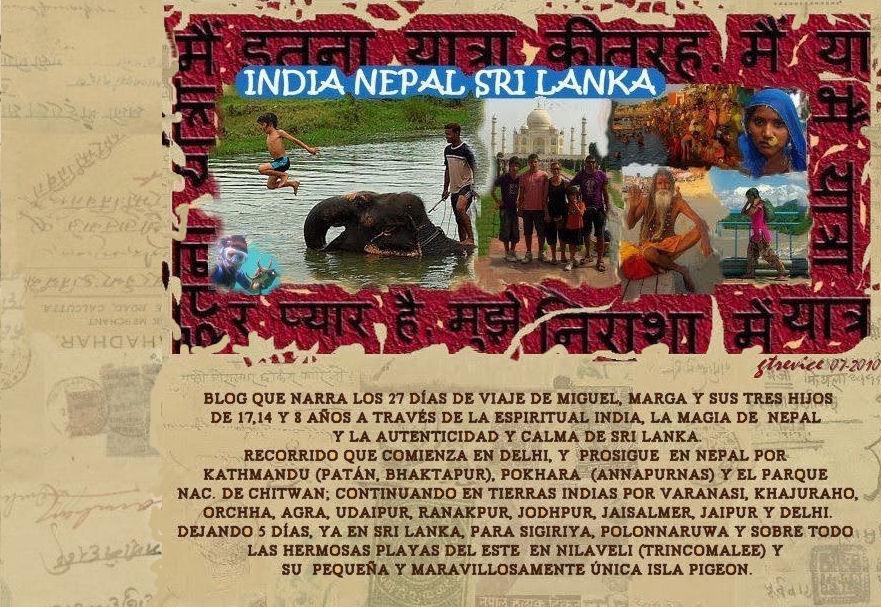 INDIA NEPAL SRILANKA