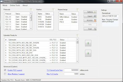 Harden SSL/TLS