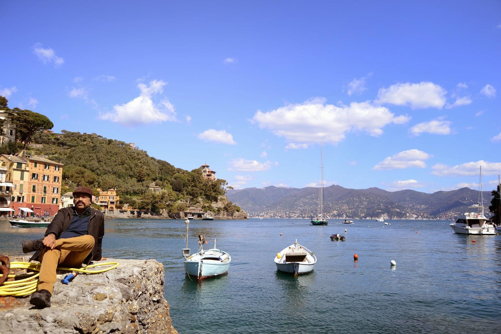 Yours truely @ Portofino