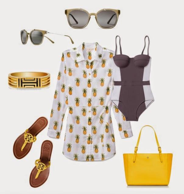 Sunglasses, Swimsuit, FitBit, Handbag, Tory Burch Sale