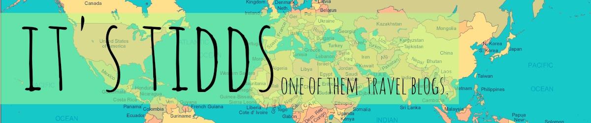 itstidds- a wannabe traveller/blogger