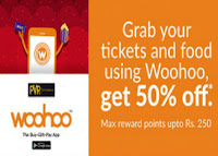Woohoo Wallet and Get 50% cashback On Movie Tickets & Food