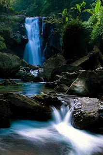 Water Fall down 3D Android Backpack wallpaper