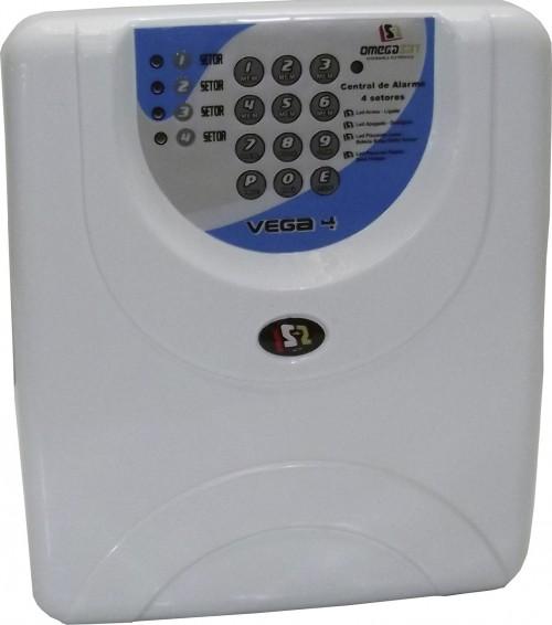 Manual Central De Alarme Omegasat Vega 4