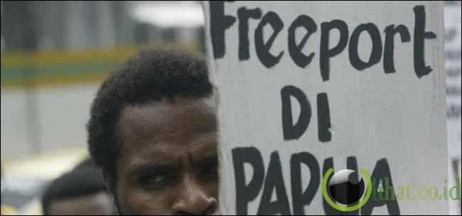 Rakyat Papua hanya 'disuap' CSR Freeport