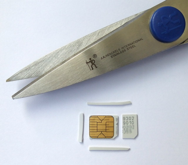 Enjoy life...: How to make a micro-SIM card from Normal SIM