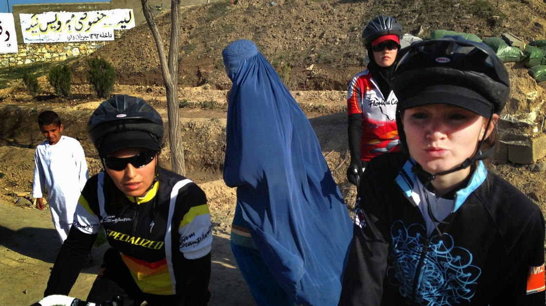 Afghanistan Female Cyclists, female cyclist