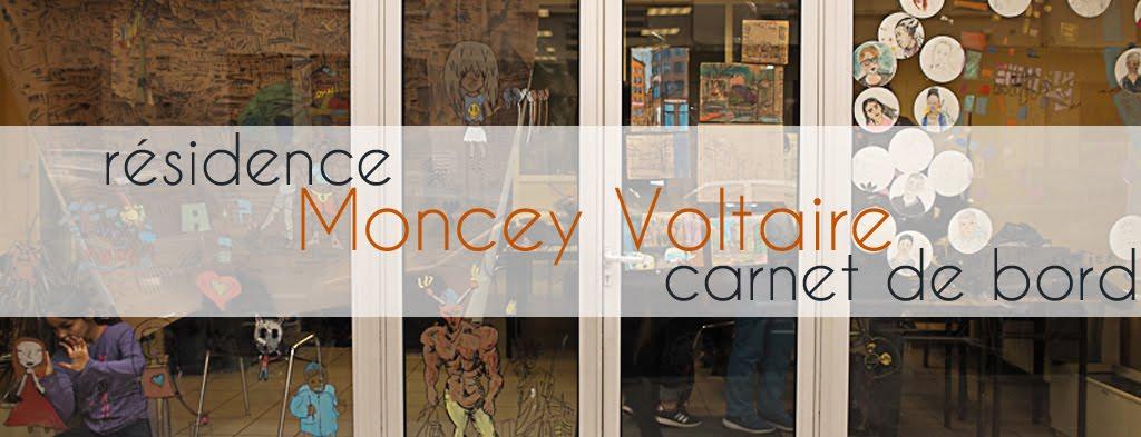 Carnet de bord - résidence Moncey