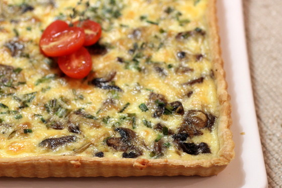 Mushroom-Shallot Frittata Recipes — Dishmaps