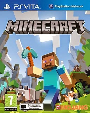 تاريخ نزول Minecraft_Psvita 2014