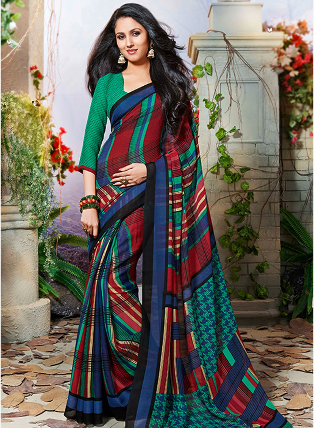 New Collection of Indian dresses upscale type of Saree Soft colors and ...