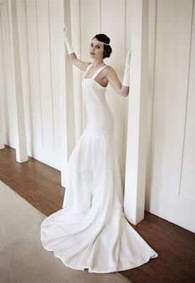 robe de mariée mariage romantique années folle