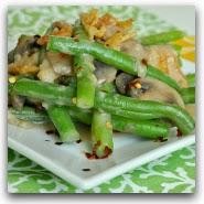Healthy Vegan Green Bean Casserole