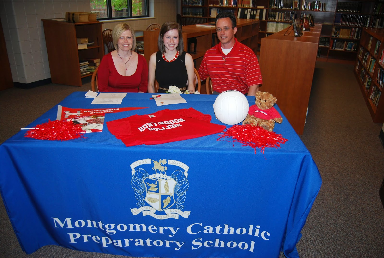 Montgomery Catholic Seniors Commit to Play at the Next Level 3