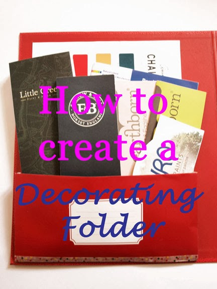 How to create a Decorating Folder | Sprout's House