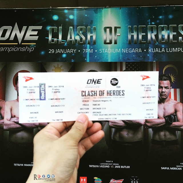 One Championship, Clash of Heroes, fighters, international mixed martial arts, MMA, Metros Events, Stadium Negara, Tune Talk, Under Armour