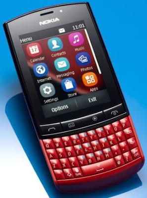 Nokia Asha 303, dual input
