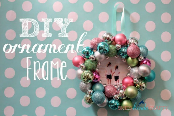 DIY Ornament Frame