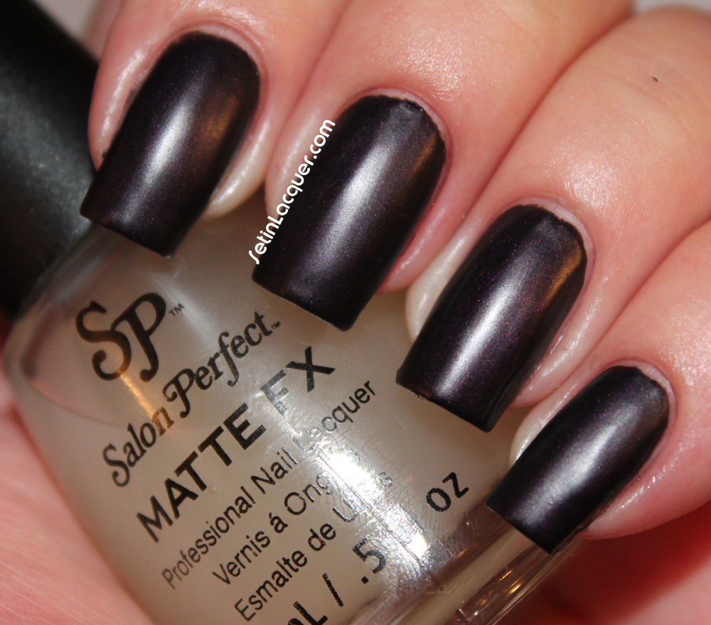 Salon Perfect Royal Knight with Matte FX
