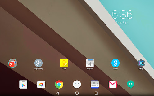 Android L Launcher Theme v1.1 Apk