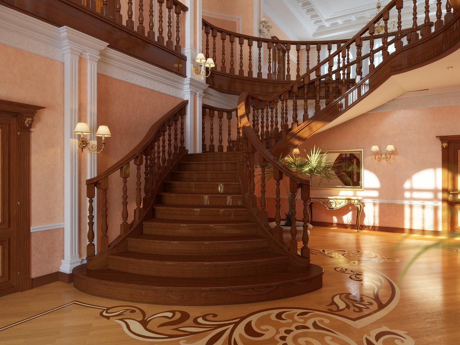 Лестница на второй этаж своими руками: винтовая, маршевая, на