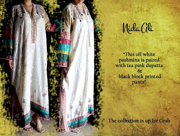 Nida Ali Launched Luxury Pret Eid Collection 2014