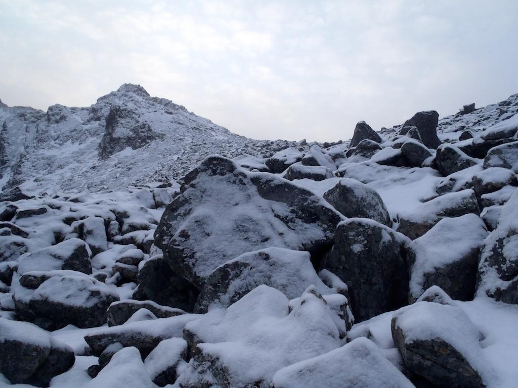 veldig masse snø