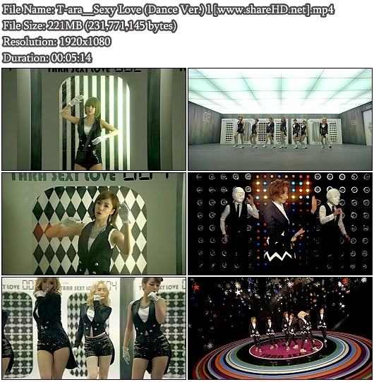 Download MV T-ara - Sexy Love (Dance Version) (Full HD 1080p)