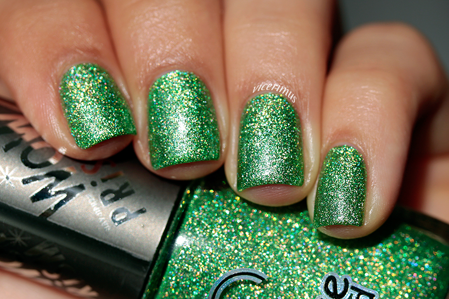 Vicerimus: Dance Legend Through The Glass and Inhale swatches and review