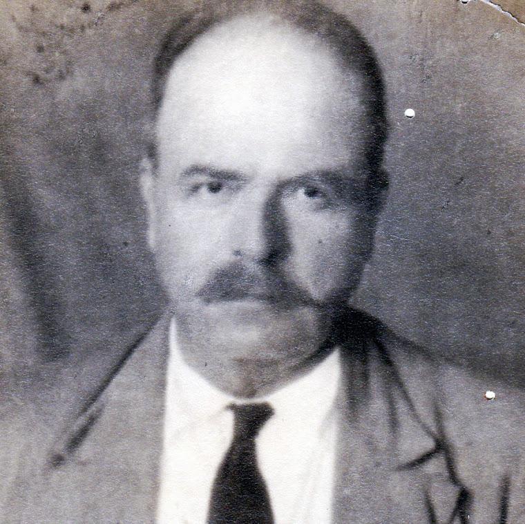 Ricardo Ossa Montoya (1861 † 1941) Fotografía tomada en 1918 a sus 57 Años