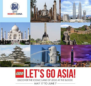 Lego, Wonders of Asia, SM North, The Block, FREE exhibit, rizal Monument