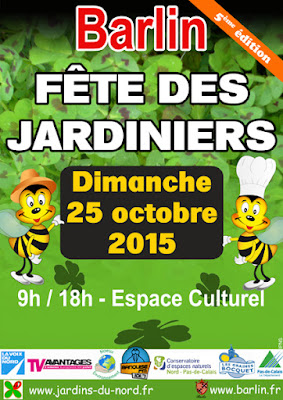 5 éme Fête des Jardiniers de Barlin le 25 octobre 2015