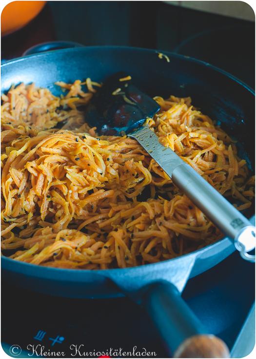 Karotten-Kinpira