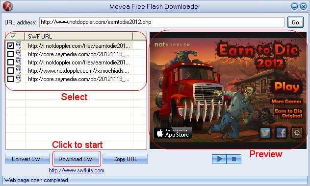 swf game downloader
